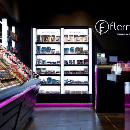 Realización de tiendas Flormar